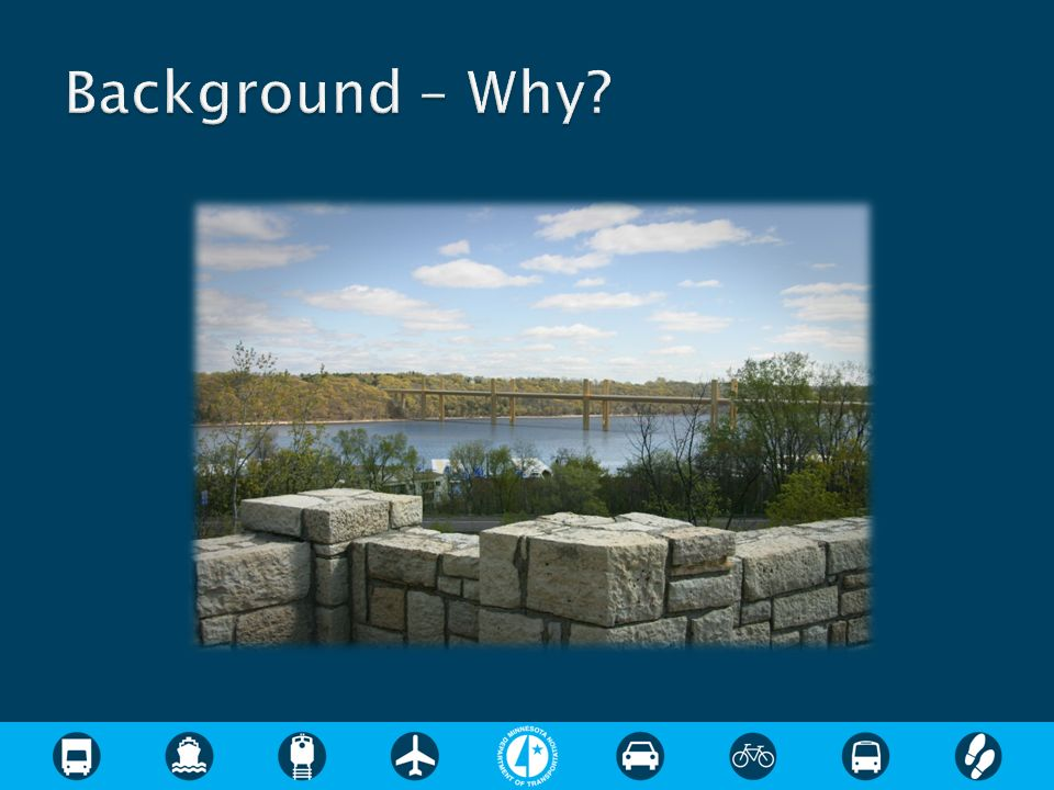 Background – Why