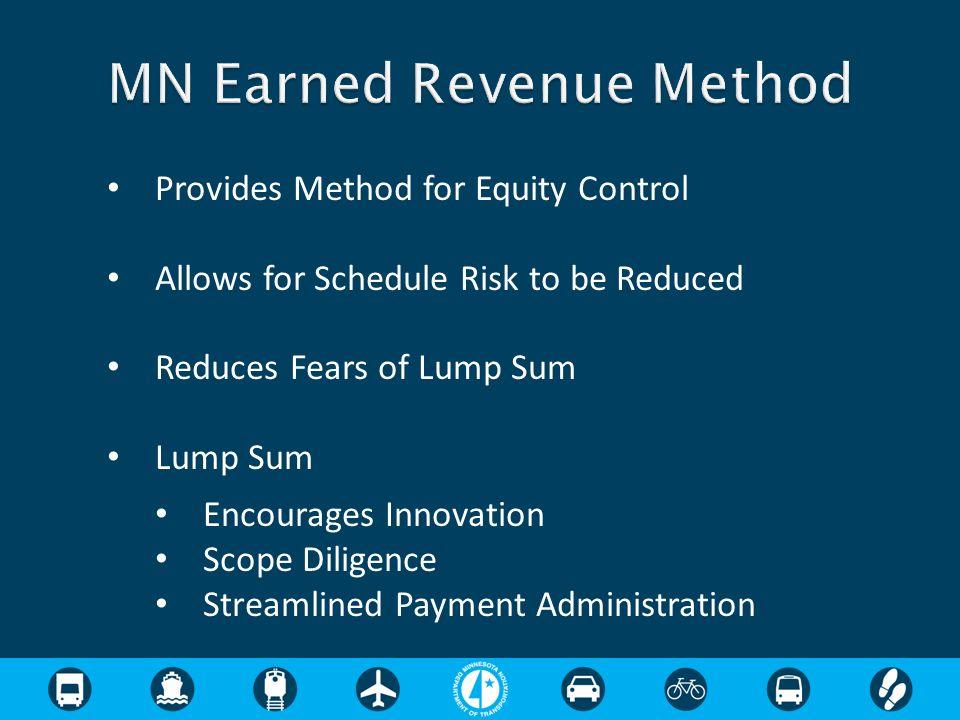 MN Earned Revenue Method