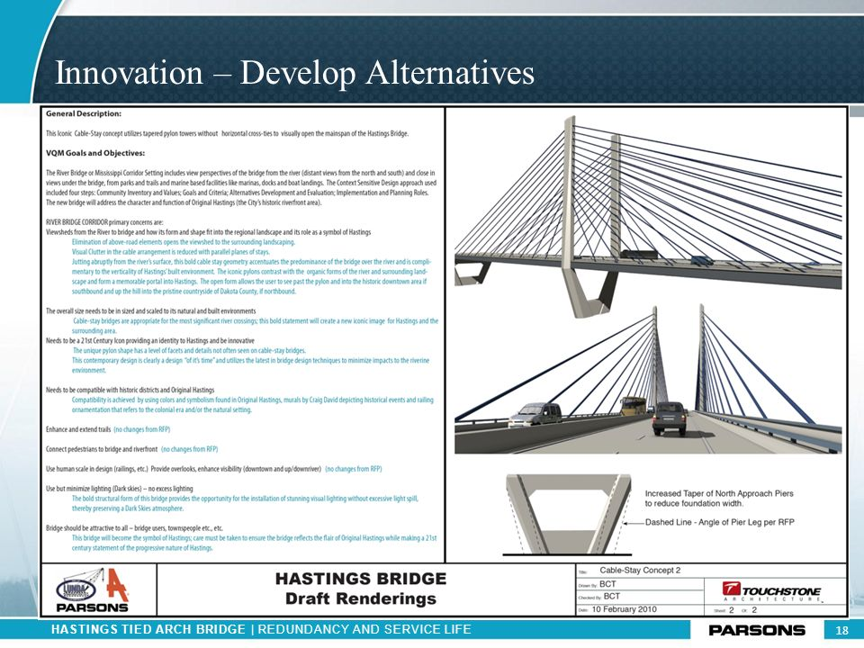 Innovation – Develop Alternatives