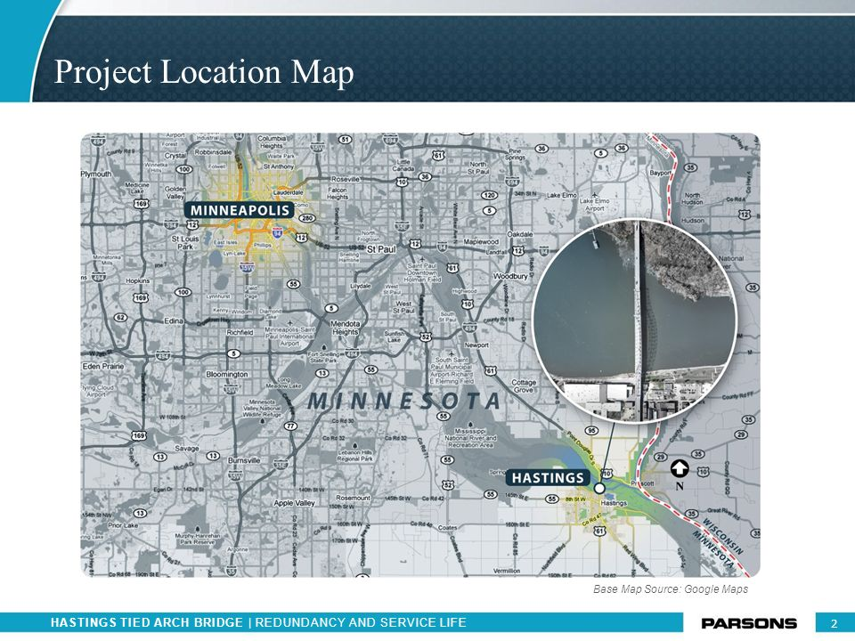 Project Location Map Base Map Source: Google Maps
