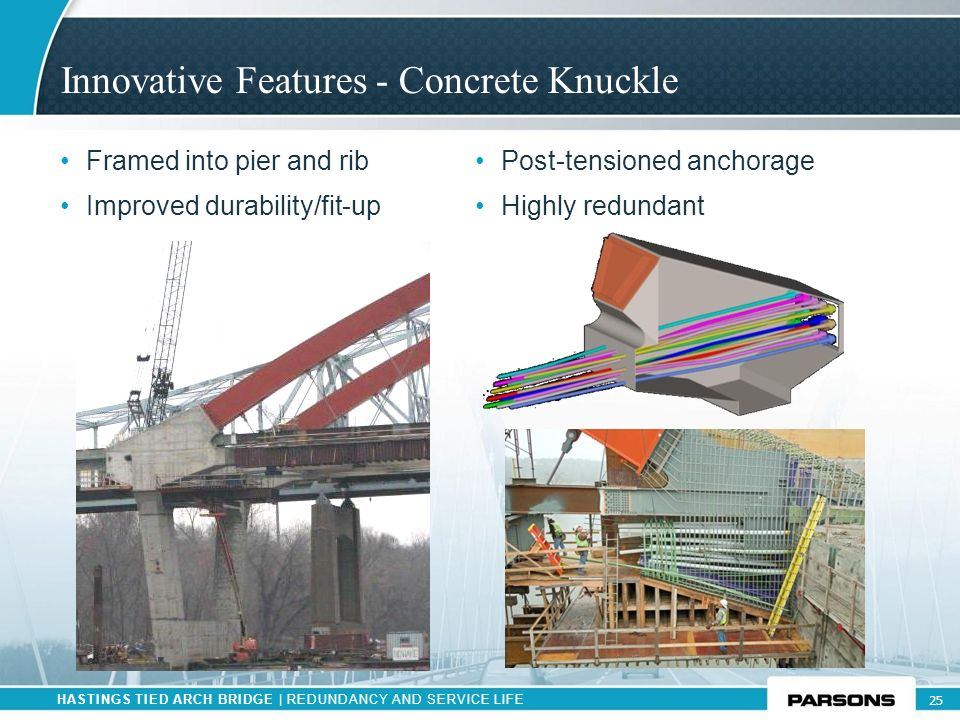 Innovative Features - Concrete Knuckle