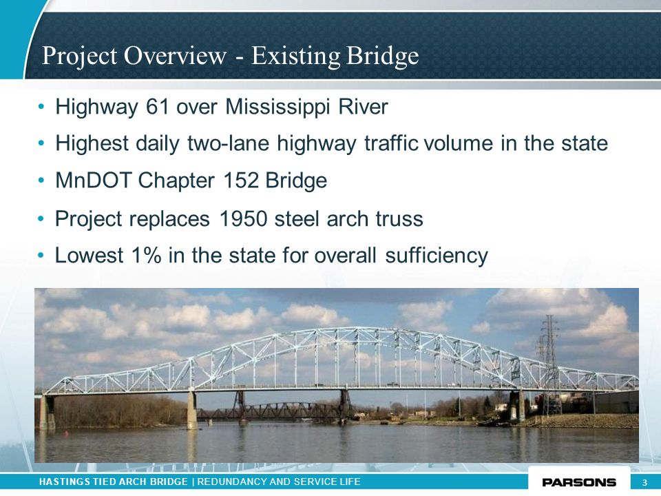 Project Overview - Existing Bridge