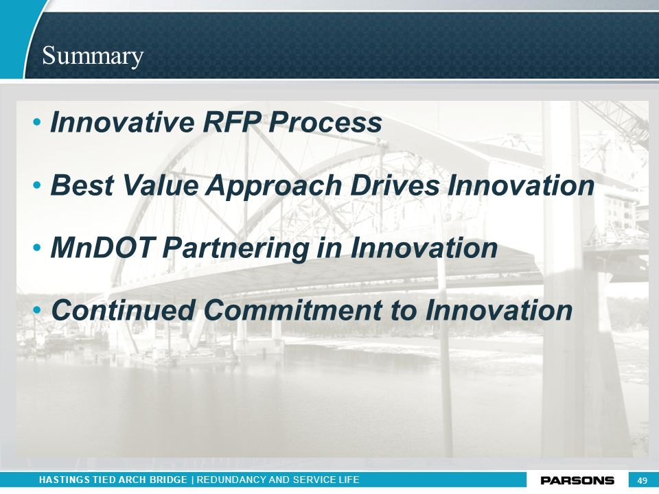 Innovative RFP Process Best Value Approach Drives Innovation
