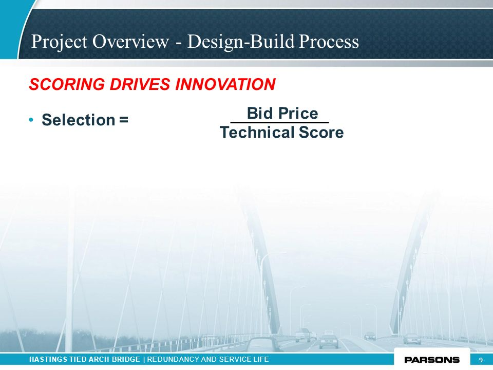 Project Overview - Design-Build Process