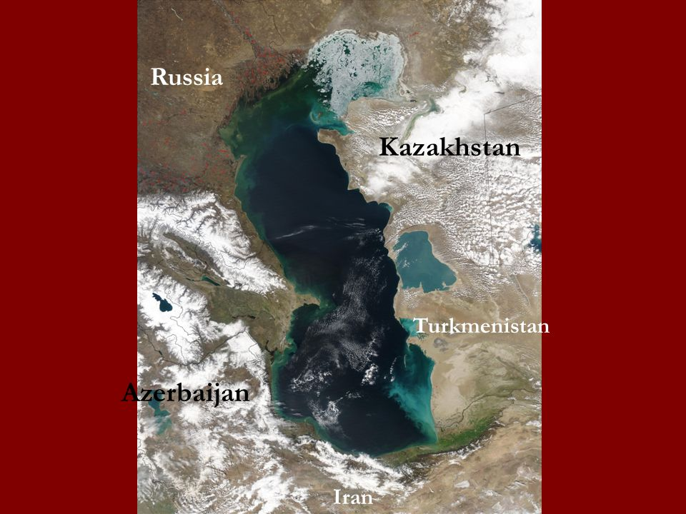 Russia Kazakhstan Turkmenistan Azerbaijan Iran