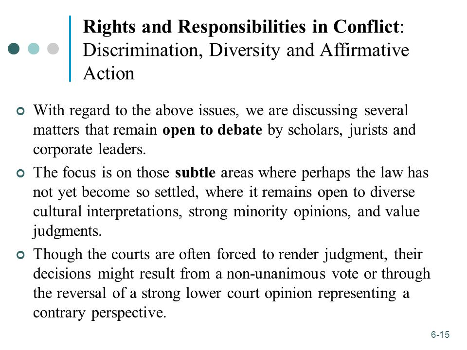 utilitarian view of affirmative action In this article a normative defense for affirmative action is constructed definitions for an  ethical systems ranging from deontological and utilitarian to justice theories, and the  view of the appropriate ends of corporate activity the supposition imbedded in.