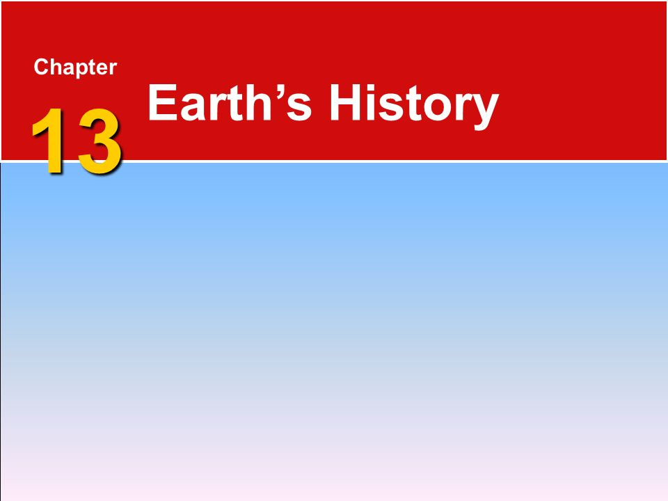 Chapter 13 Earth's History Who is Stan Hatfield and Ken Pinzke
