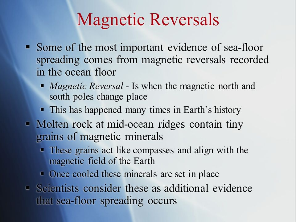 magnetic reversal mid ocean ridges - photo #23