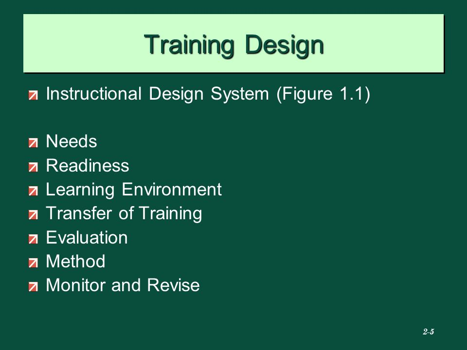 instructional design training online