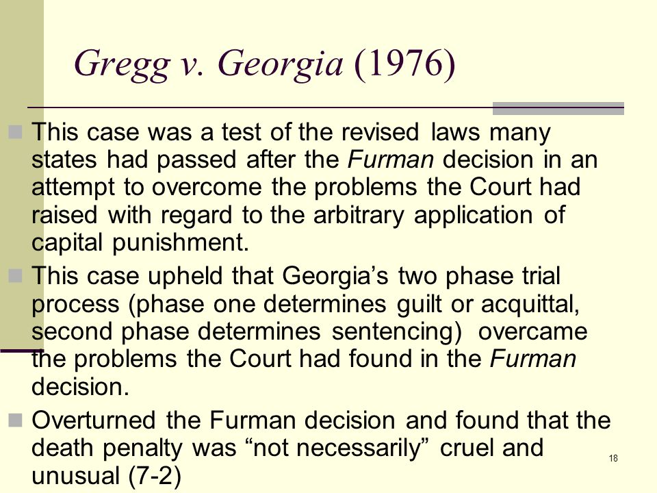 Gregg v. Georgia (1976)