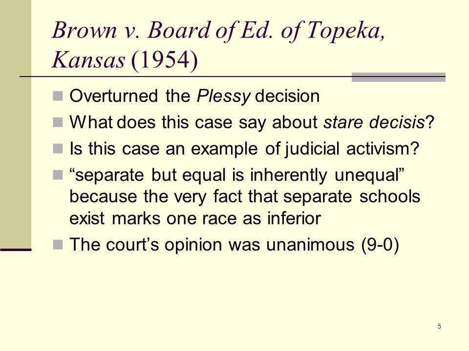 Brown v. Board of Ed. of Topeka, Kansas (1954)