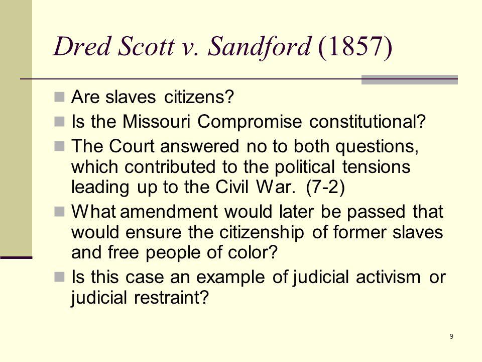 Dred Scott v. Sandford (1857)