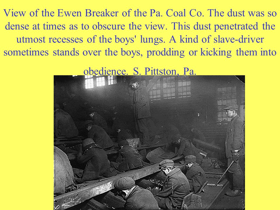 View of the Ewen Breaker of the Pa. Coal Co