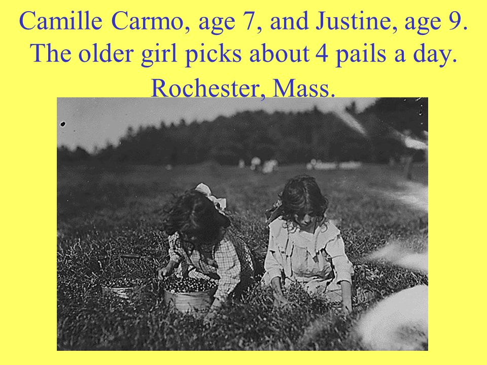 Camille Carmo, age 7, and Justine, age 9