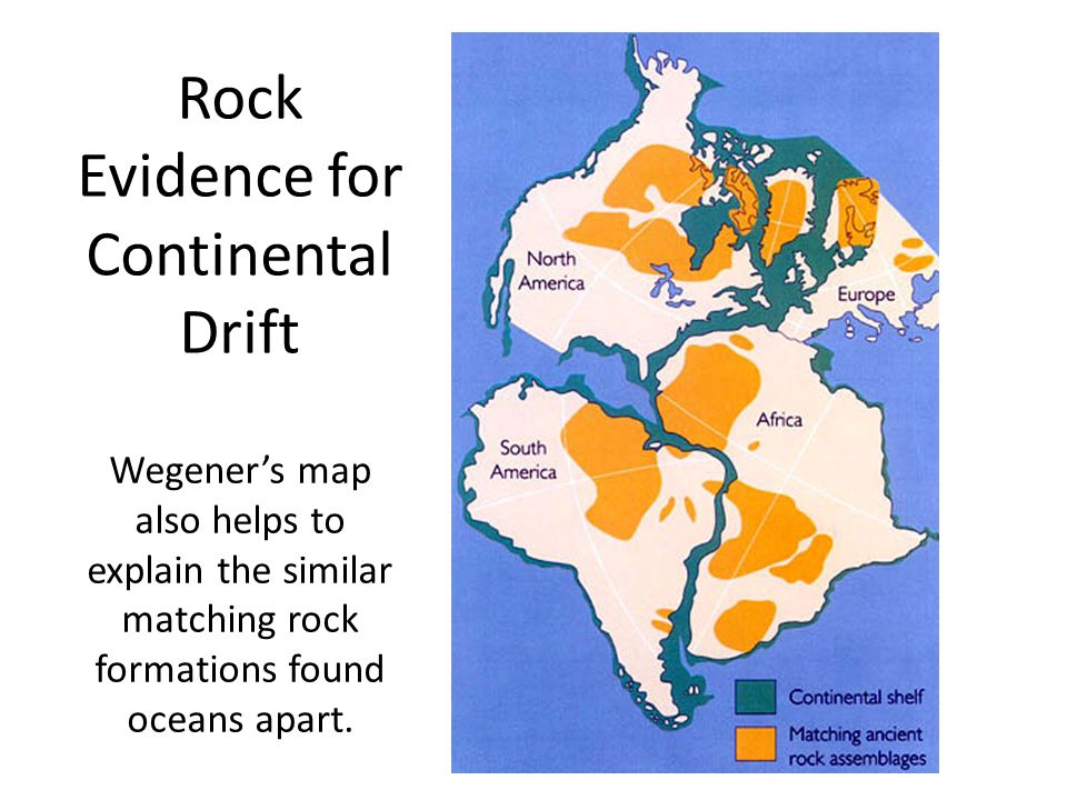 Rock Evidence for Continental Drift