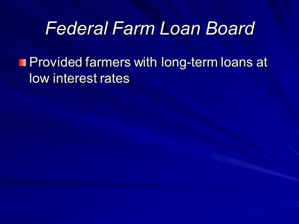 Federal Farm Loan Board