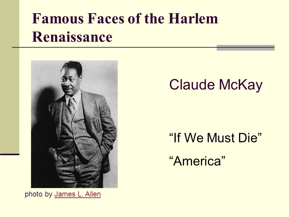 Famous Faces of the Harlem Renaissance