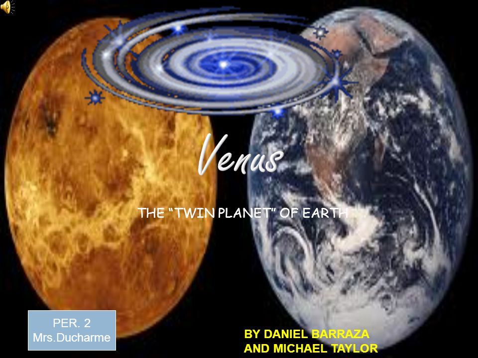 """THE """"TWIN PLANET"""" OF EARTH - p..."""
