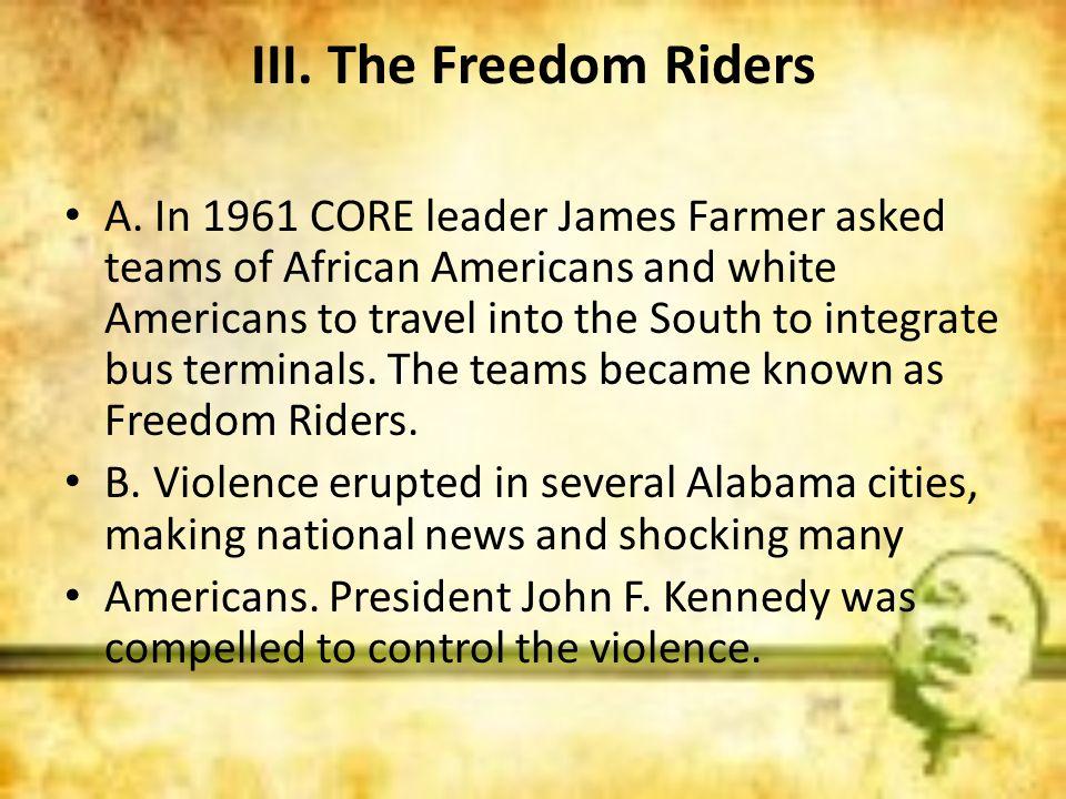 III. The Freedom Riders