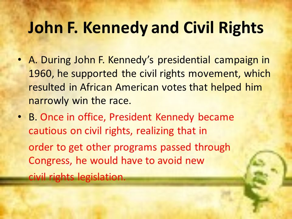 John F. Kennedy and Civil Rights