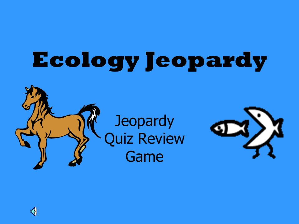 Jeopardy Quiz Review Game