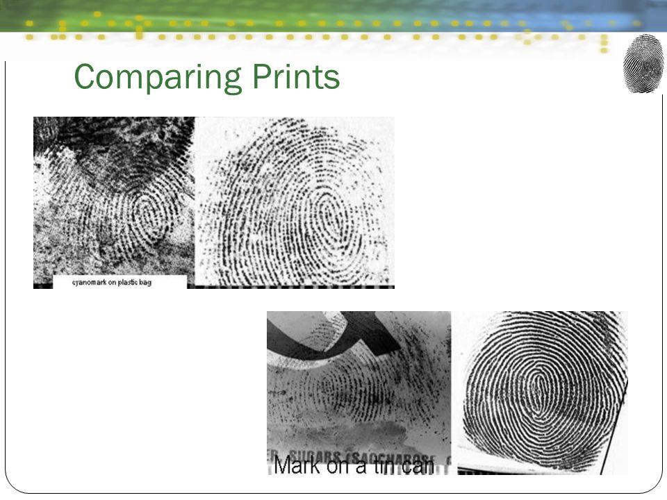 Comparing Prints