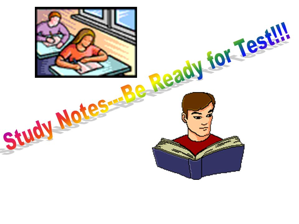 Study Notes---Be Ready for Test!!!