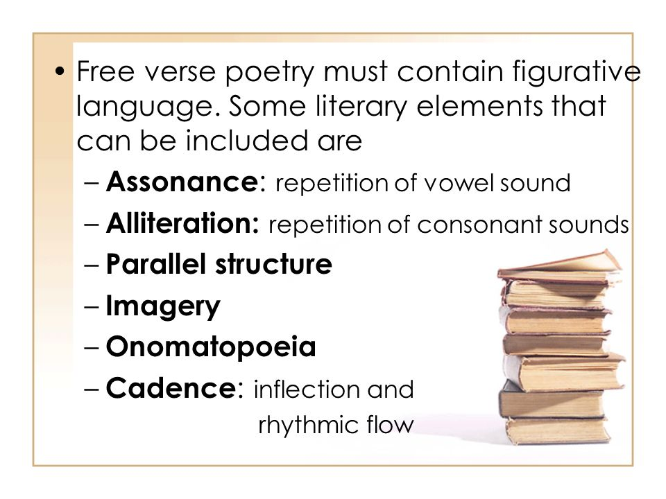 Assonance: repetition of vowel sound
