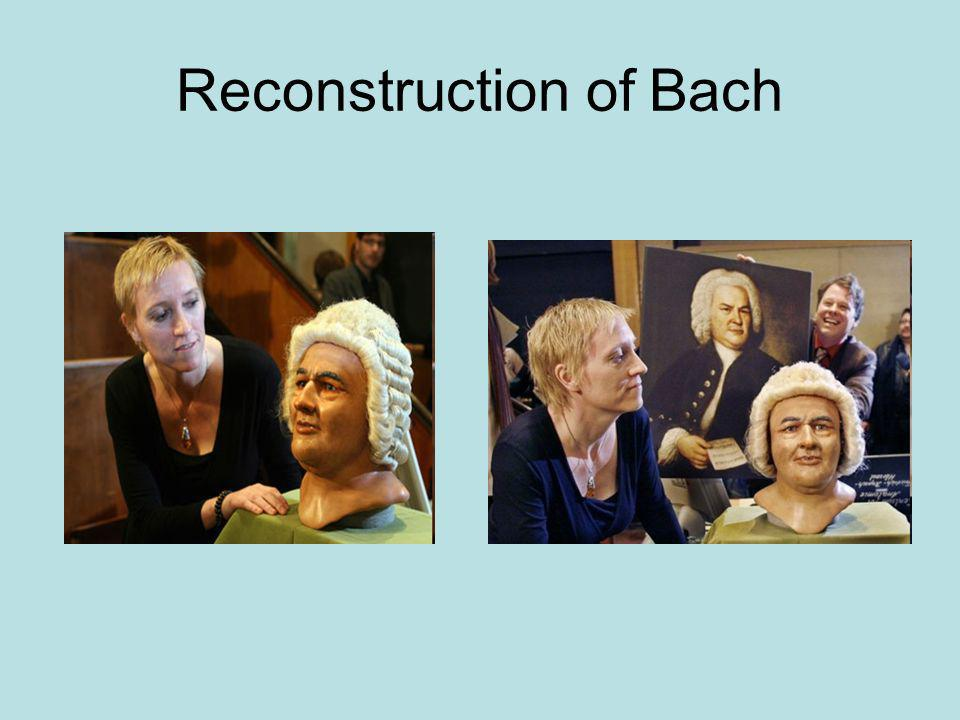 Reconstruction of Bach
