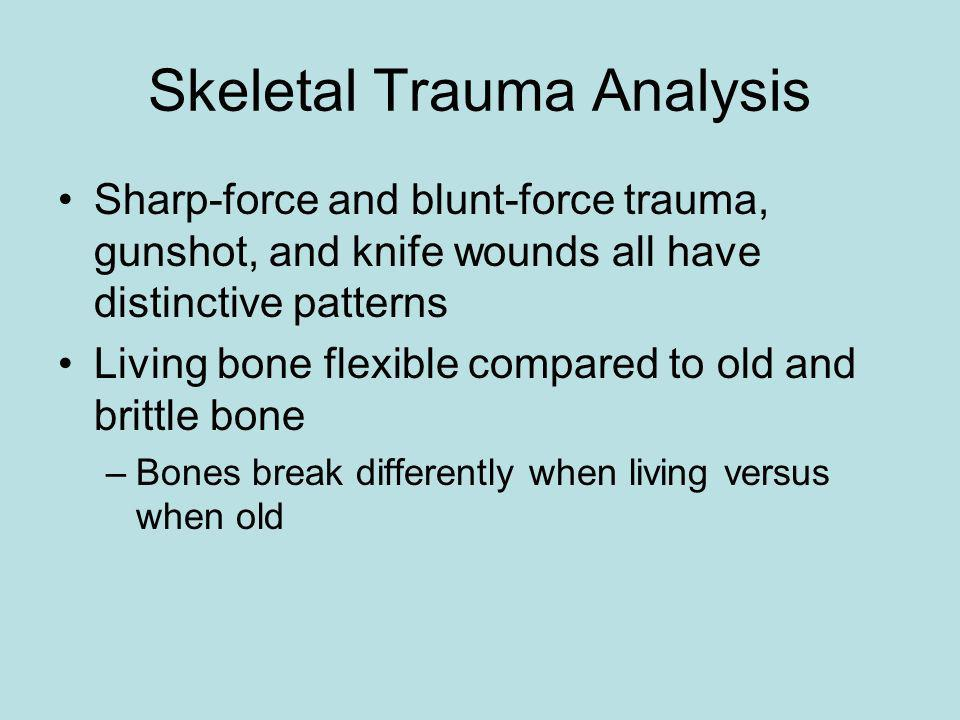 Skeletal Trauma Analysis