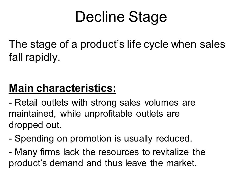 Product Life Cycle Strategies (PLC) and Characteristics – Managing each PLC Stage