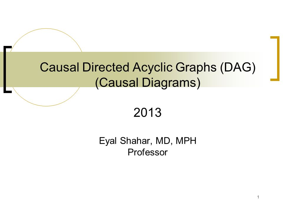 causal diagram dag causal diagram what is a causal diagram? - ppt video online download #1
