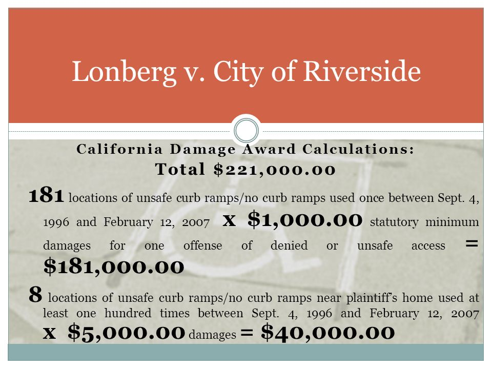 Lonberg v. City of Riverside
