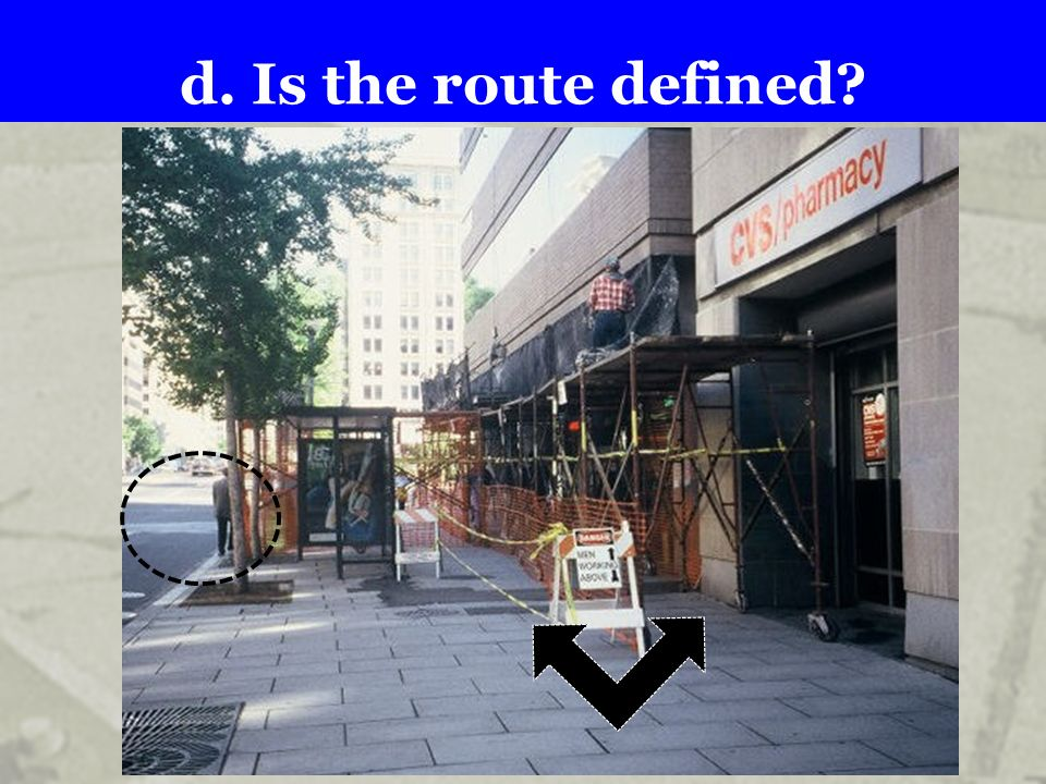 d. Is the route defined .