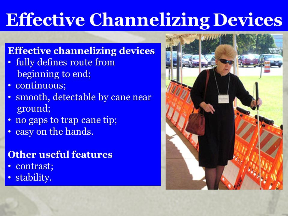 Effective Channelizing Devices