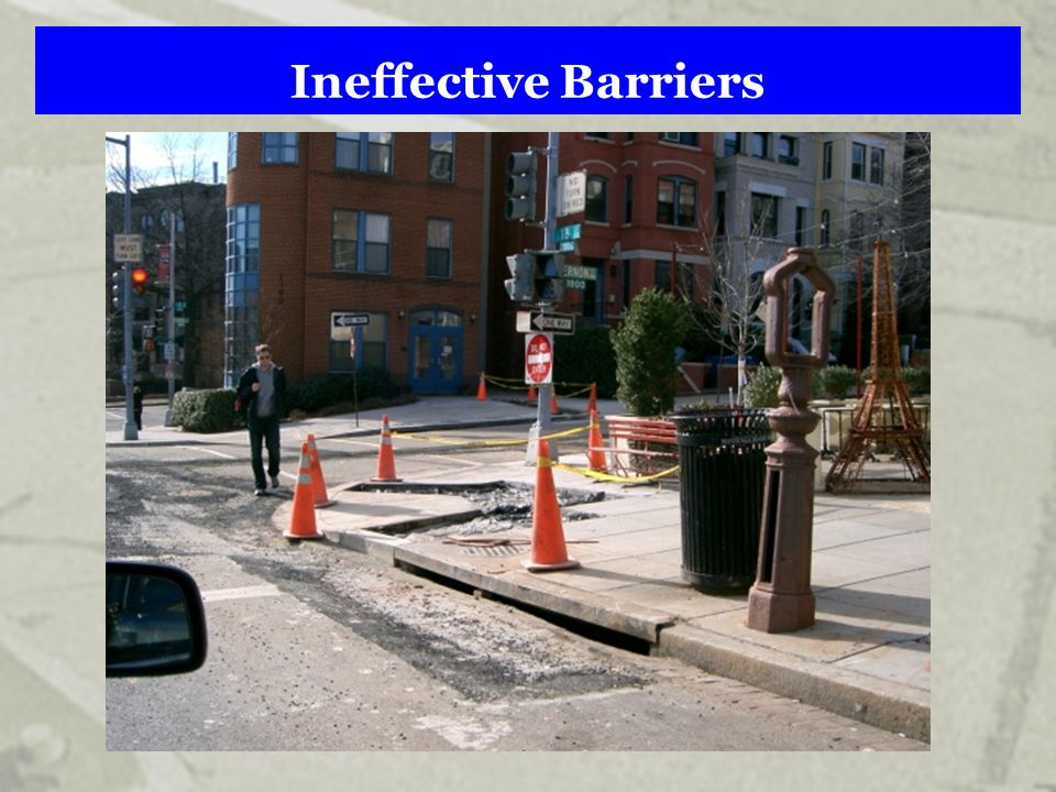 Ineffective Barriers