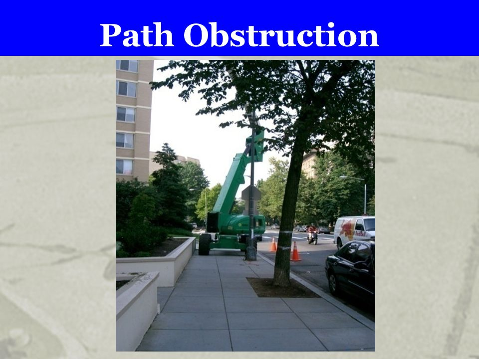 Path Obstruction