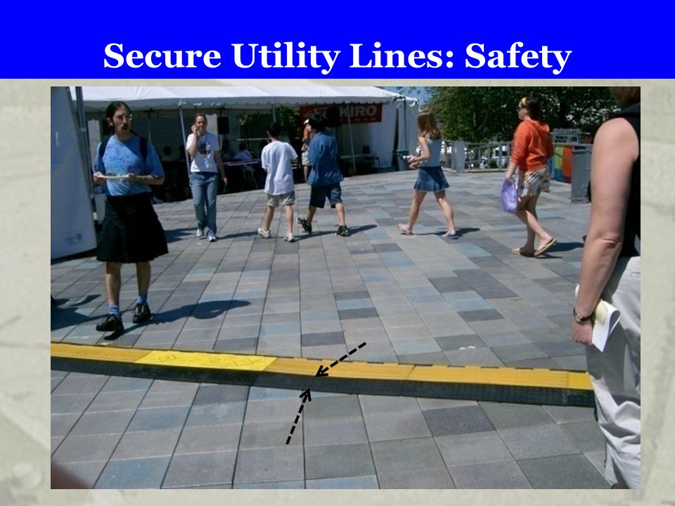Secure Utility Lines: Safety