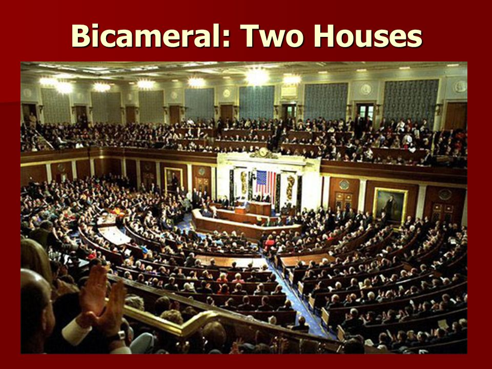 Bicameral: Two Houses