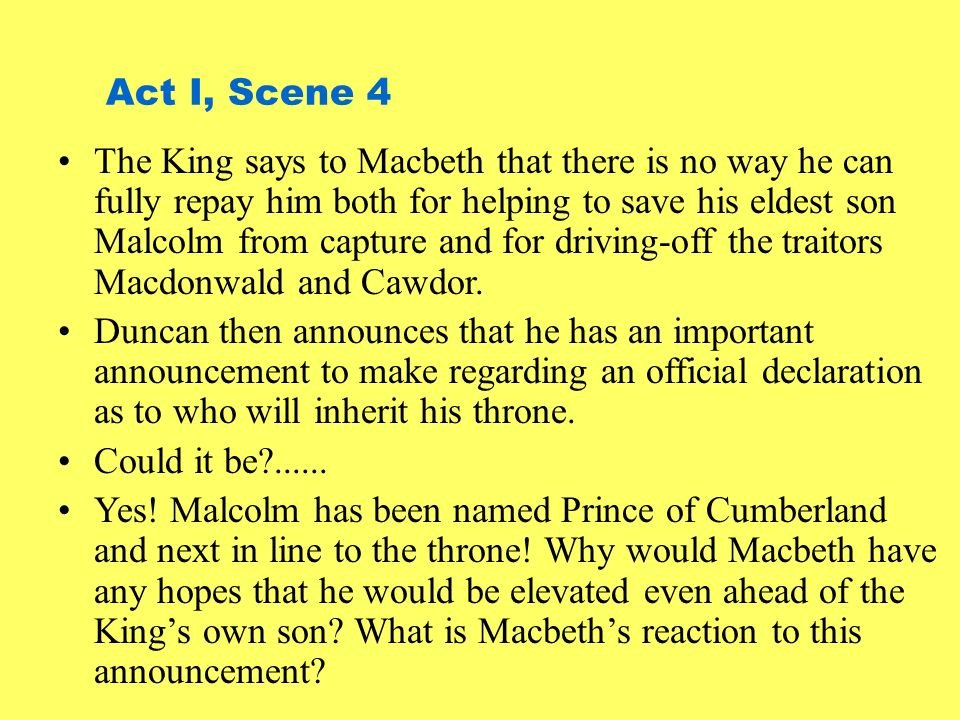 Act I, Scene 4