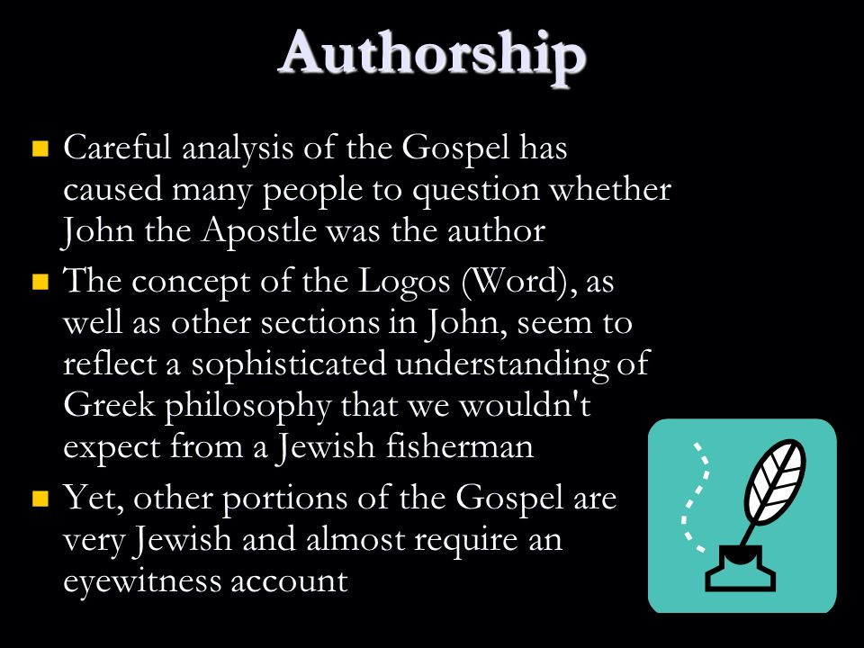 an analysis of the beliefs of the author of the gospel of mark The name of the person who supposedly wrote the gospel of thomas is given   but if you mean by gnostic the religion upon which the nag hammadi texts are   but it can be recovered by analysis of matthew and luke (simply put, q was the.