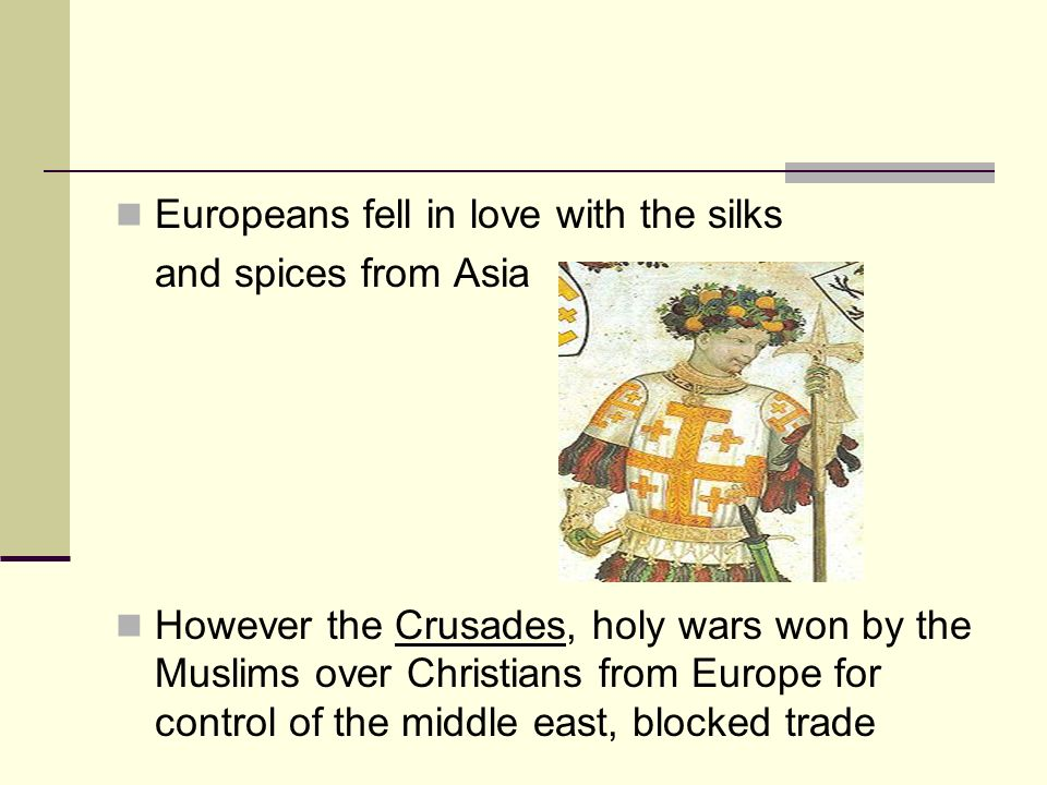 Europeans fell in love with the silks