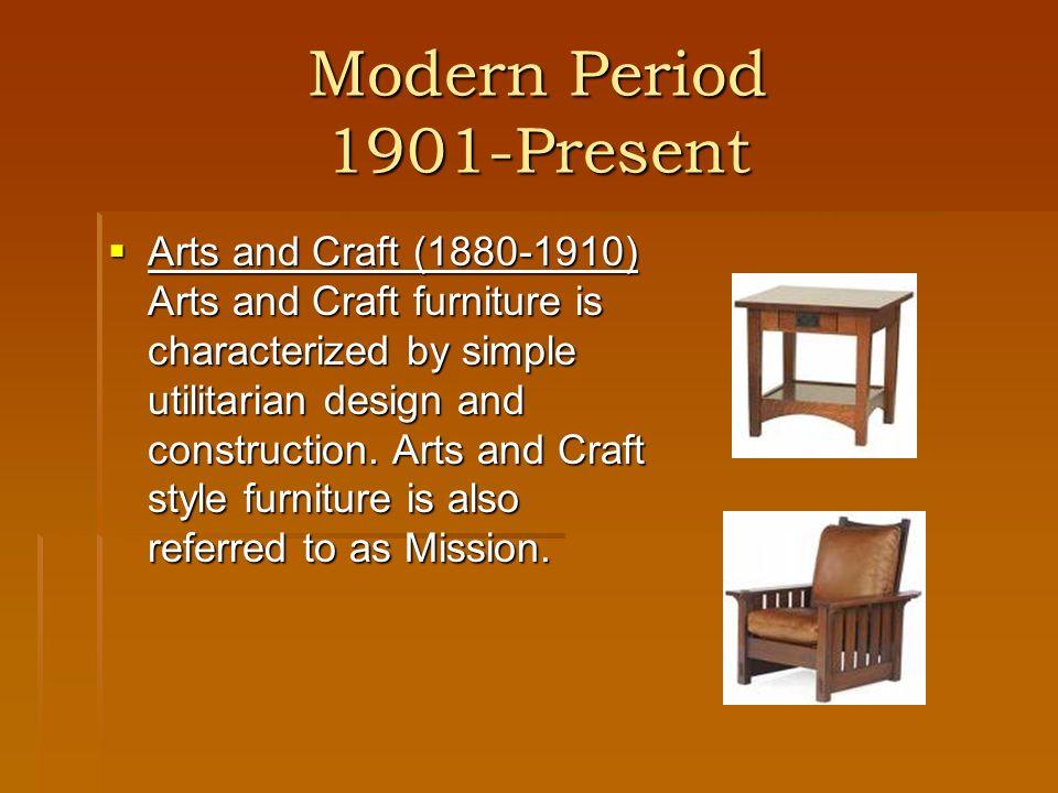 Modern Period 1901-Present
