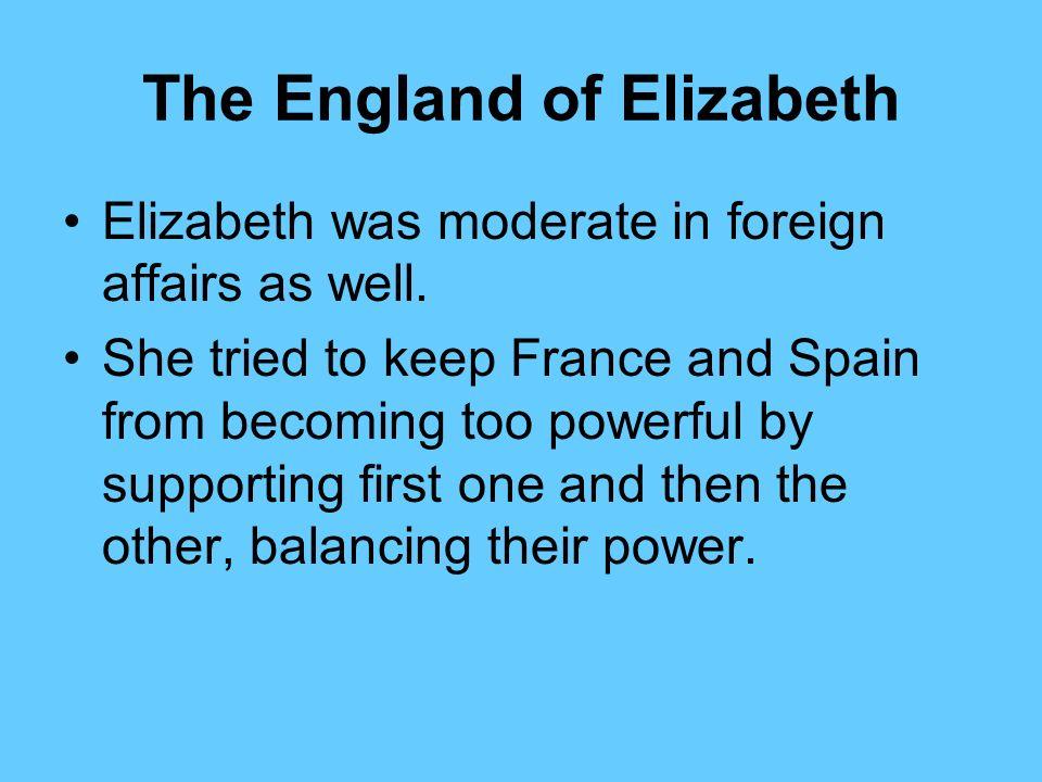 The England of Elizabeth