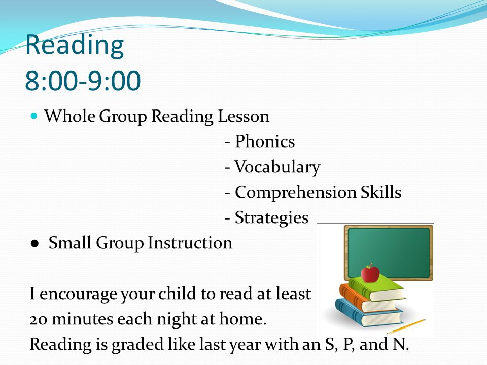 Reading 8:00-9:00 Whole Group Reading Lesson - Phonics - Vocabulary