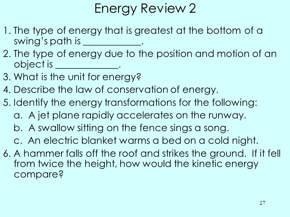 Energy Review 2