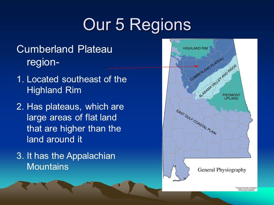Our 5 Regions Cumberland Plateau region-