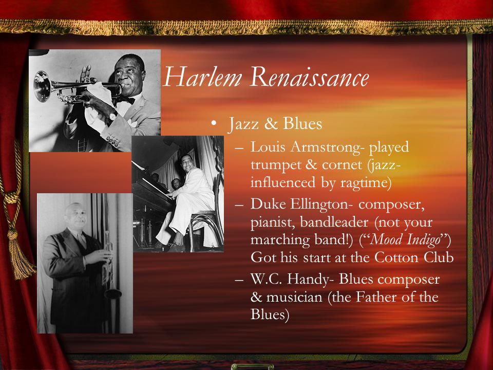 Harlem Renaissance Jazz & Blues