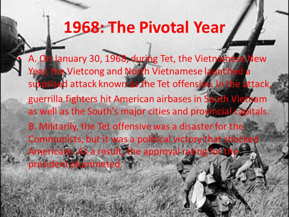 1968: The Pivotal Year