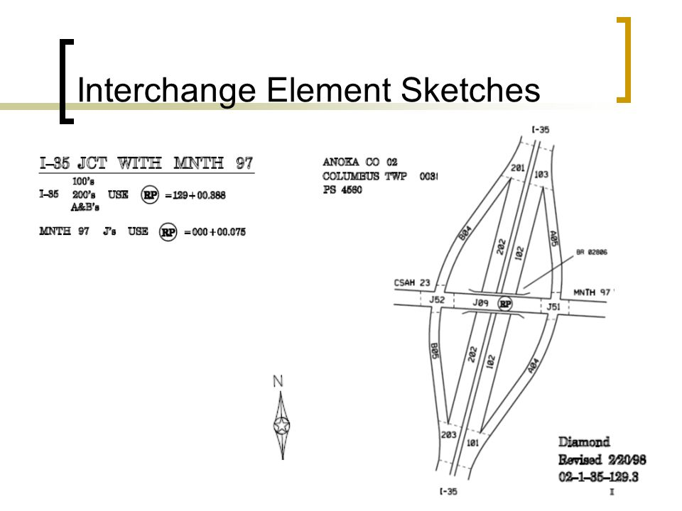 Interchange Element Sketches